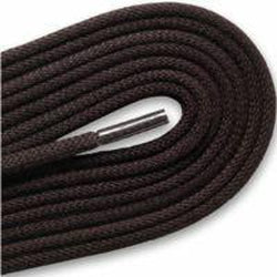 ECCO Round Waxed Cotton/Polyester Laces - Coffee (1 Pair Pack)