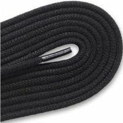 ECCO Water Resistant Polyester Golf Laces - Black (1 Pair Pack) Shoelaces from Shoelaces Express