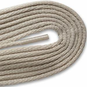 Waxed Thin Round Dress Laces - Gray (2 Pair Pack) Shoelaces from Shoelaces Express