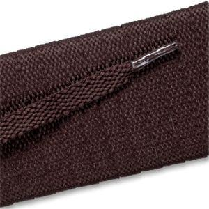 New Balance Flat Athletic Laces - Brown (2 Pair Pack) Shoelaces from Shoelaces Express