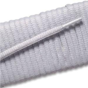 New Balance Oval Athletic Laces - Gray (2 Pair Pack) Shoelaces from Shoelaces Express