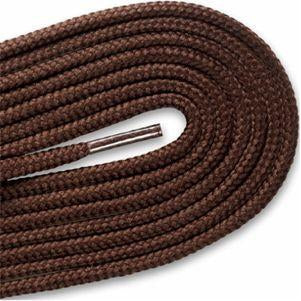 New Balance Round Athletic Laces - Brown (2 Pair Pack) Shoelaces from Shoelaces Express