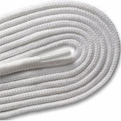 New Balance Round Athletic Laces - White (2 Pair Pack) Shoelaces from Shoelaces Express