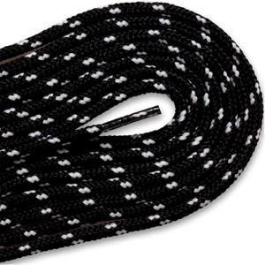 New Balance Round Athletic Laces - Black/White (2 Pair Pack) Shoelaces from Shoelaces Express
