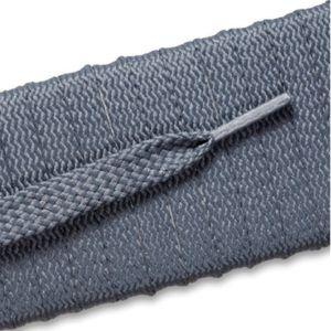 New Balance Flat Tubular Laces 992 - Gray (2 Pair Pack) Shoelaces from Shoelaces Express