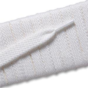 New Balance Flat Tubular Laces 991/992 - White (2 Pair Pack) Shoelaces from Shoelaces Express