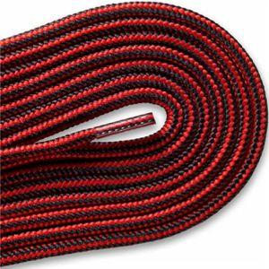 New Balance Hiker Laces - Black/Red (2 Pair Pack) Shoelaces from Shoelaces Express
