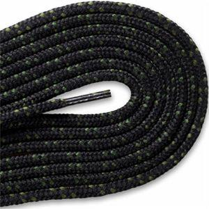 New Balance Hiker Laces - Black/Moss Green (2 Pair Pack) Shoelaces from Shoelaces Express