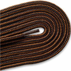 New Balance Hiker Laces - Chestnut/Black (2 Pair Pack) Shoelaces from Shoelaces Express