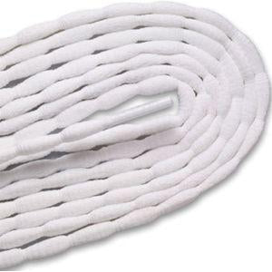 New Balance Sure-Lace Bubble Laces - White (2 Pair Pack) Shoelaces from Shoelaces Express