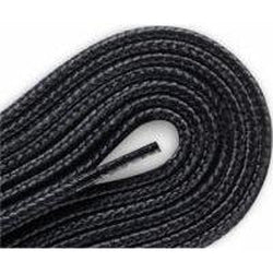 Red Wing Round Braided Taslan Laces - Black (2 Pair Pack) Shoelaces from Shoelaces Express