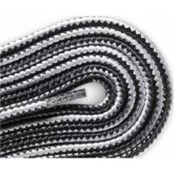 Red Wing Round Nylon Laces - Black/Gray (2 Pair Pack) Shoelaces from Shoelaces Express