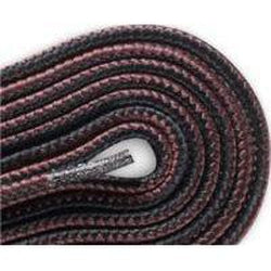 Red Wing Round Nylon Laces - Black/Deep Red Brown (2 Pair Pack) Shoelaces from Shoelaces Express