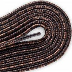 Red Wing Round Nylon Laces - Brown w/Chocolate Tracers (2 Pair Pack)