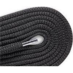 Red Wing Round Polyester Laces - Black (2 Pair Pack) Shoelaces from Shoelaces Express