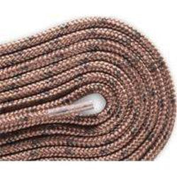Red Wing Round Nylon Laces - Chocolate Brown/Wood (2 Pair Pack) Shoelaces from Shoelaces Express