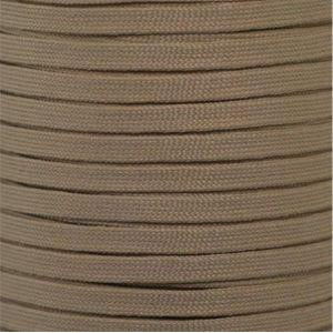 Flat Athletic Laces Custom Length with Tip - Beige (1 Pair Pack) Shoelaces from Shoelaces Express