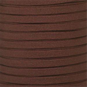 Flat Athletic Laces Custom Length with Tip - Brown (1 Pair Pack) Shoelaces from Shoelaces Express