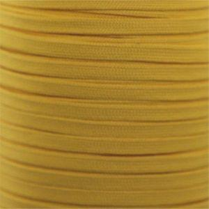 Spool - Flat Tubular Athletic - Gold (144 yards) Shoelaces from Shoelaces Express