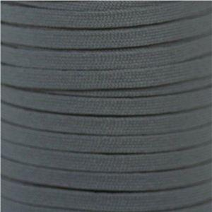 Flat Athletic Laces Custom Length with Tip - Gray (1 Pair Pack) Shoelaces from Shoelaces Express