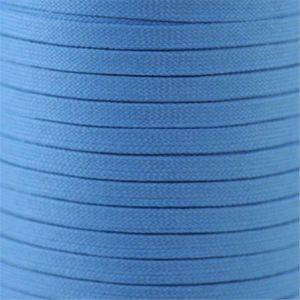 "Spool - 5/16"" Flat Tubular Athletic - Light Blue (144 yards) Shoelaces from Shoelaces Express"