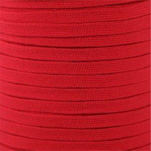 Spool - Flat Tubular Athletic - Red (144 yards) Shoelaces from Shoelaces Express