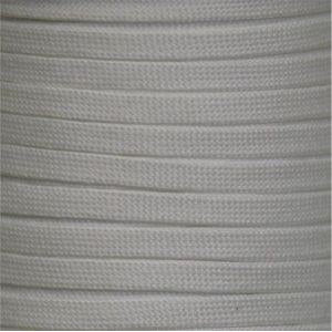 Spool - Flat Tubular Athletic - White (144 yards) Shoelaces from Shoelaces Express