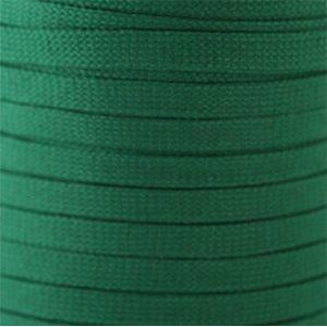 Flat Tubular Athletic Laces Custom Length with Tip - Kelly Green (1 Pair Pack) Shoelaces from Shoelaces Express