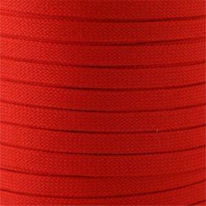Flat Tubular Athletic Laces Custom Length with Tip - Orange (1 Pair Pack) Shoelaces from Shoelaces Express
