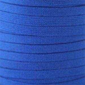 Flat Tubular Athletic Laces Custom Length with Tip - Royal Blue (1 Pair Pack) Shoelaces from Shoelaces Express