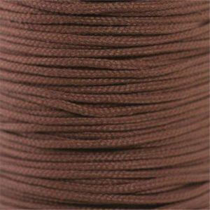 Round Athletic Laces Custom Length with Tip - Brown (1 Pair Pack) Shoelaces from Shoelaces Express