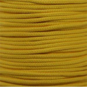 Round Athletic Laces Custom Length with Tip - Gold (1 Pair Pack) Shoelaces from Shoelaces Express