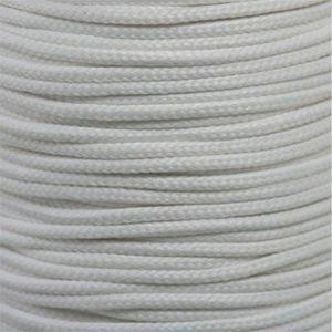 Round Athletic Laces Custom Length with Tip - White (1 Pair Pack) Shoelaces from Shoelaces Express