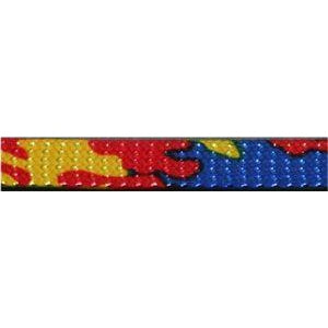 Glitter Flat Laces Custom Length with Tip - Colorful Camouflage (1 Pair Pack) Shoelaces from Shoelaces Express
