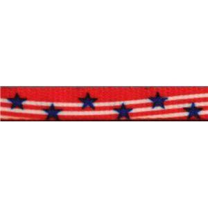 Spool - Printed Flat - Stars & Stripes (144 yards) Shoelaces from Shoelaces Express