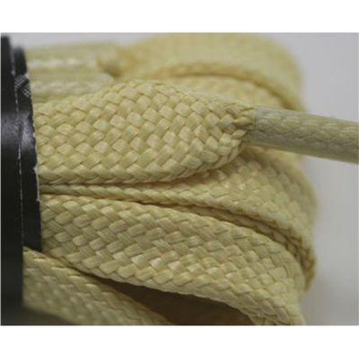 100% Aramid Fiber Boot Laces - Gold (1 Pair Pack) Shoelaces from Shoelaces Express