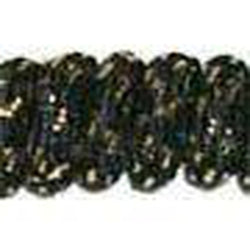 Curly Laces - Black/Metallic Gold (1 Pair Pack) Shoelaces from Shoelaces Express