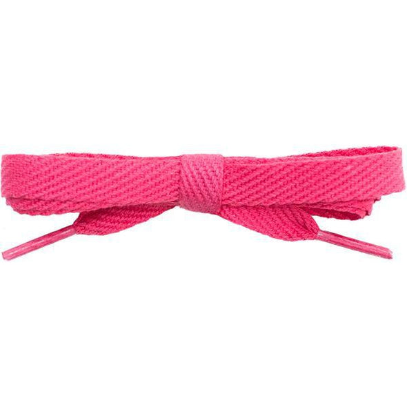 "Spool - 3/8"" Cotton Flat - Dark Pink (144 yards) Shoelaces from Shoelaces Express"