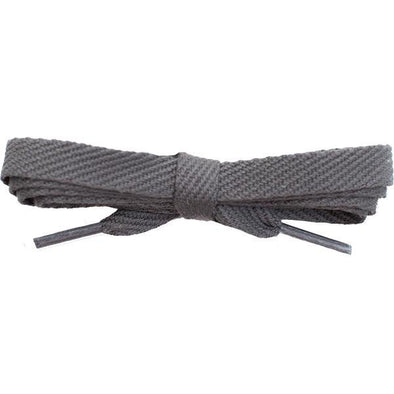 "Spool - 3/8"" Cotton Flat - Dark Gray (144 yards) Shoelaces from Shoelaces Express"