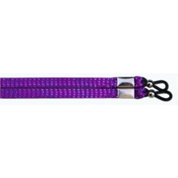 Wholesale Eyewear Retainer - Glitter Purple (12 Pack) Shoelaces from Shoelaces Express