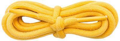 "Wholesale Waxed Cotton Round 3/16"" - Gold (12 Pair Pack) Shoelaces from Shoelaces Express"