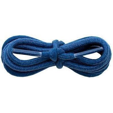 "Waxed Cotton Round 3/16"" - Navy (12 Pair Pack) Shoelaces from Shoelaces Express"