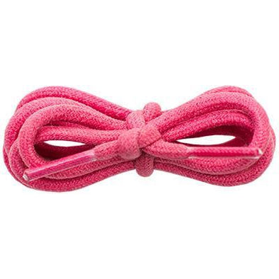 "Waxed Cotton 3/16"" Round Laces - Pink (2 Pair Pack) Shoelaces from Shoelaces Express"