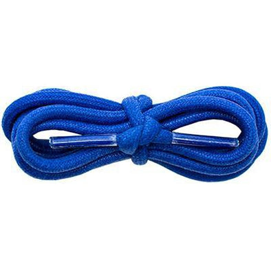 "Waxed Cotton 3/16"" Round Laces - Royal Blue (2 Pair Pack) Shoelaces from Shoelaces Express"