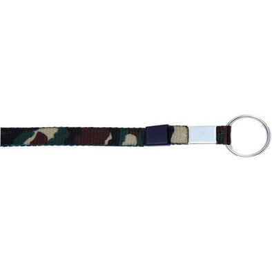 "Key Ring 3/8"" - Olive Camouflage (12 Pack)"