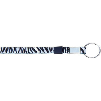 "Wholesale Key Ring Glitter 3/8"" - Zebra (12 Pack) Shoelaces from Shoelaces Express"