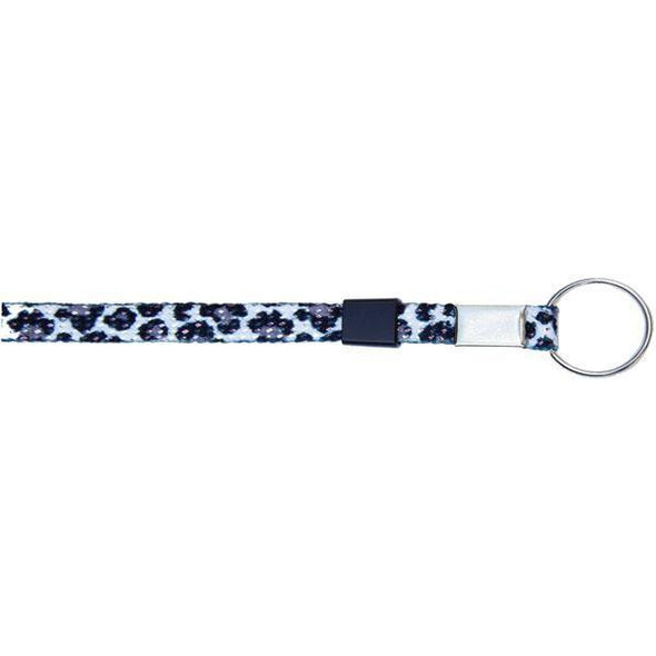 "Key Ring Glitter 3/8"" - Cheetah (12 Pack) Shoelaces from Shoelaces Express"