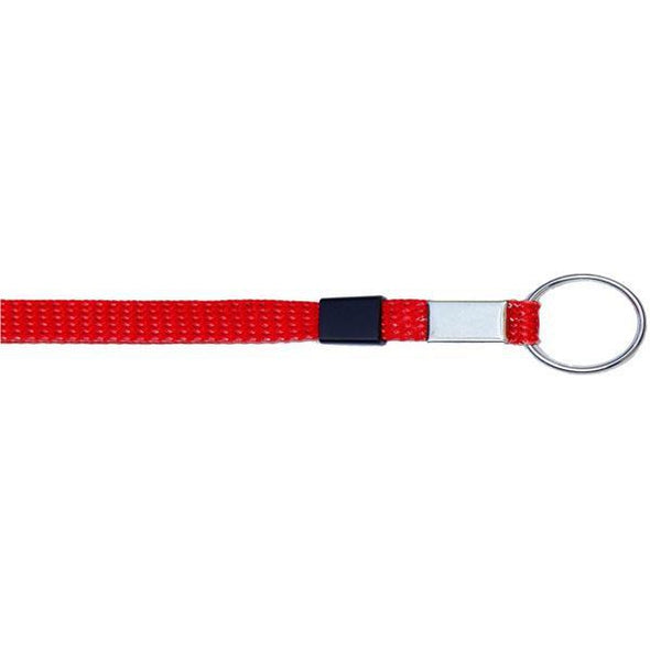 "Key Ring Glitter 3/8"" - Red (12 Pack)"