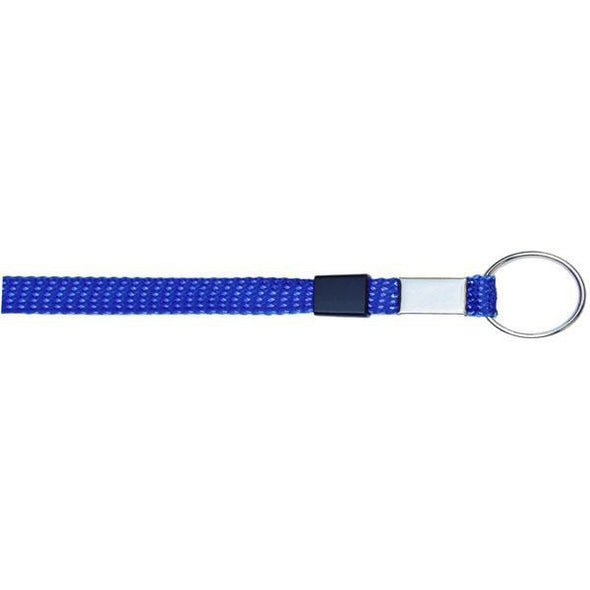 "Key Ring Glitter 3/8"" - Royal Blue (12 Pack) Shoelaces from Shoelaces Express"