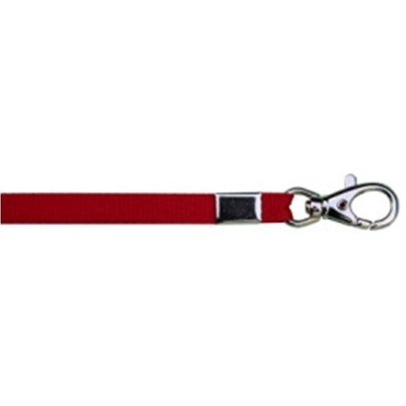 "Wholesale Lanyard 3/8"" - Red (12 Pack) Shoelaces from Shoelaces Express"